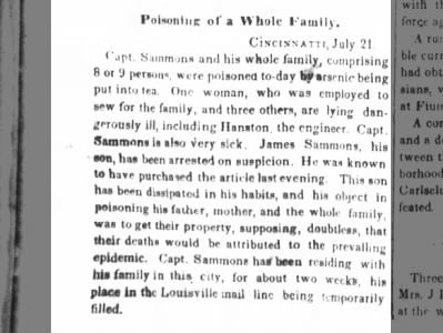 The Tri-Weekly Commercial (Wilmington, NC) 26 Jul 1849, Thursday; Page 2