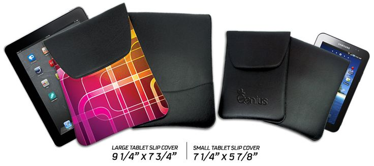 Tablet Slip Covers. Made in Canada.