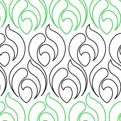 Peacock - Digital - Quilts Complete - Continuous Line Quilting Patterns