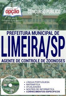 Apostila Concurso Limeira SP Agente de Controle de Zoonoses