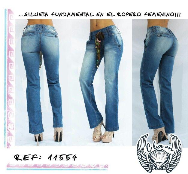 Jeans Femenino...Ajuste perfecto!