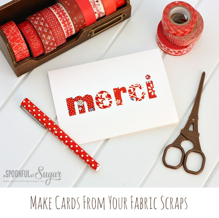 Quick Fabric Cards