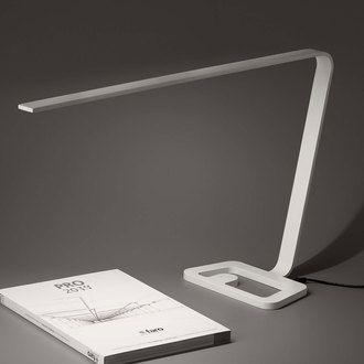 Luxury Lampe de bureau LED en aluminium hauteur cm longueur cm Yap FARO