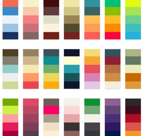 Colors That Go Together 81 best colour swatches images on pinterest | colors, colour