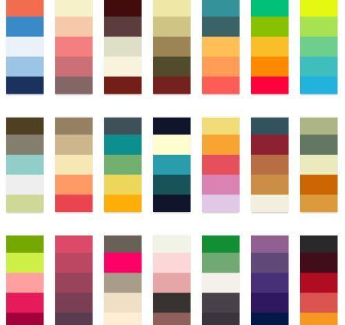 17 Best Images About Color Block On Pinterest: 17 Best Images About Colour Swatches On Pinterest
