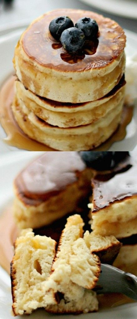 Scottish Pancakes-good! i like all of the cinnamon and there was no oil in the pancakes
