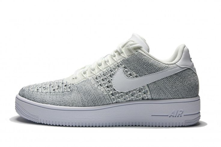 Nike Air Force 1 Ultra Flyknit Low - Cool Grey/White