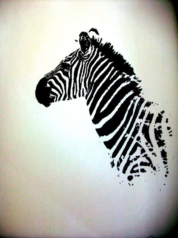 I Screen You Screen Zebra Print