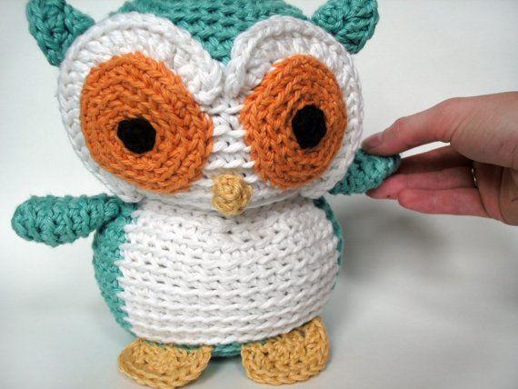 : Crochet Owl Stuffed animal