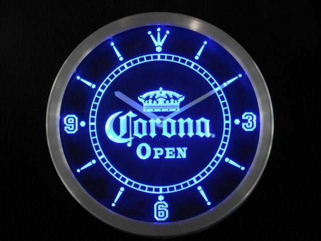 Check lastest price nc0109 OPEN Corona Crown Beer Pub Bar Neon Sign LED Wall Clock Wholesale Dropshipping just only $36.99 with free shipping worldwide  #clocks Plese click on picture to see our special price for you