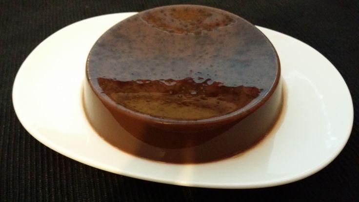 Молочно-шоколадное суфле из агар-агара