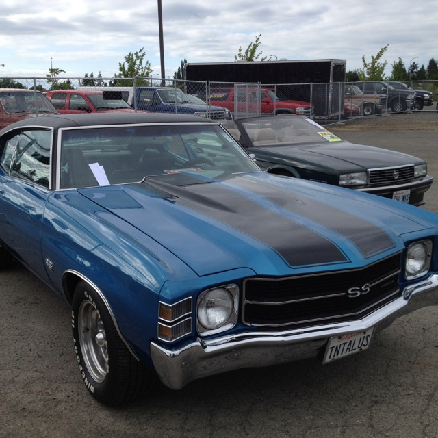1971 Chevelle SS Big Block. Awesome