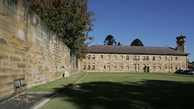 The Female Factory at Parramatta.
