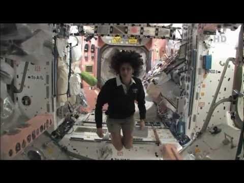 Sunita Williams of NASA provides a tour of the ISS orbital laboratory. Pretty interesting...worth watching!!