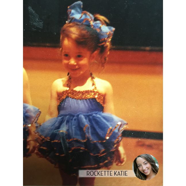 Rockette Katie started her dance career as a toddler in a tutu. 🤗 #FBF