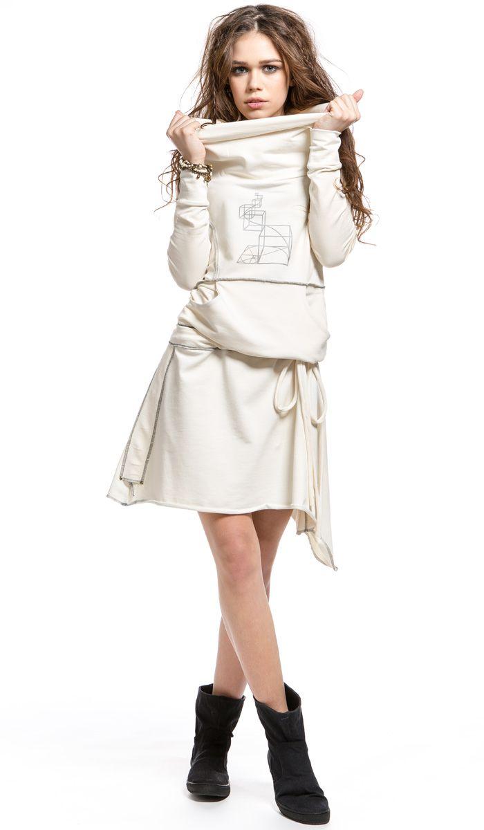 Дизайнерское платье  RADIVASKA, спортивное платье, designer dress. 6140 рублей