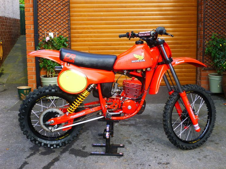 Honda 250CR 1980 Motocross Bike Twinshock | eBay