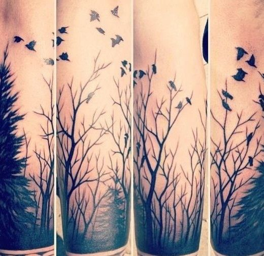 Forest Tattoo Designs                                                                                                                                                                                 More