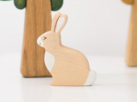 Wooden Toy Hare.  Forest Animal Toy. Bunny Toy for Toddlers. Wooden Toy Rabbit. Wooden Hare Toy for Toddlers. by WoodenCaterpillar on Etsy https://www.etsy.com/listing/243361725/wooden-toy-hare-forest-animal-toy-bunny