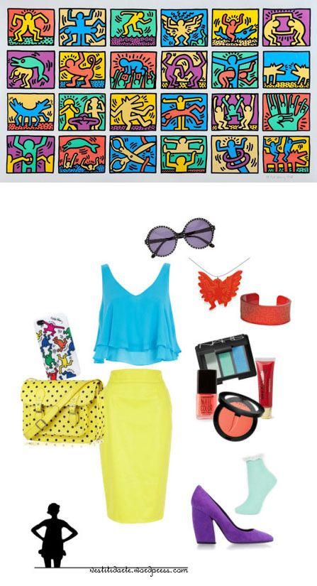 L'arte universale di Keith Haring - http://vestitidarte.wordpress.com/2013/11/22/larte-universale-di-keith-haring/