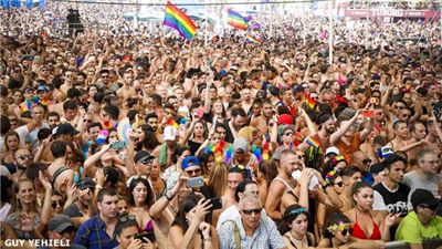 Tel Aviv Gay Pride Parade Draws Massive Crowd