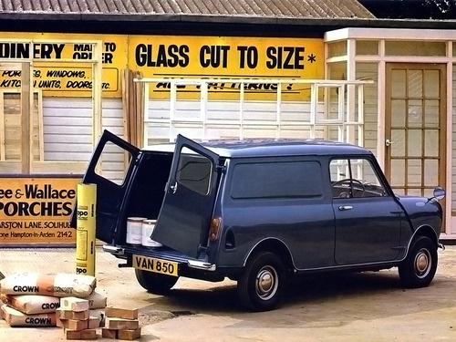 Morris Mini Van