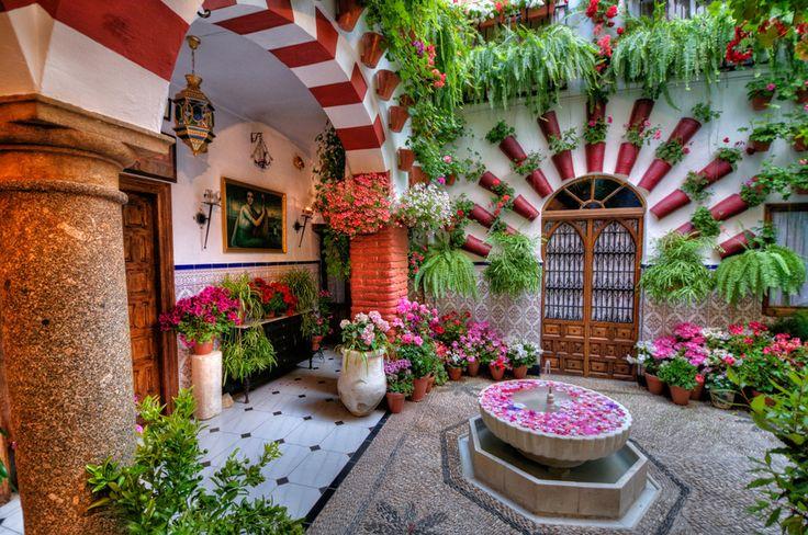 Córdoba, Patio by Ventura Carmona