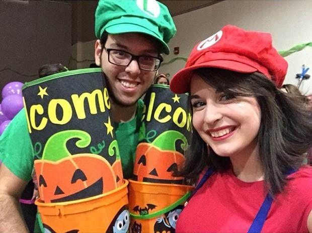 Mario & Luigi Couples Costume