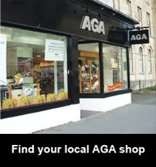 Find your local AGA shop