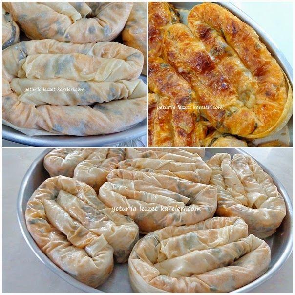 yetur'la lezzet kareleri: yufkalı ve el açması börekler