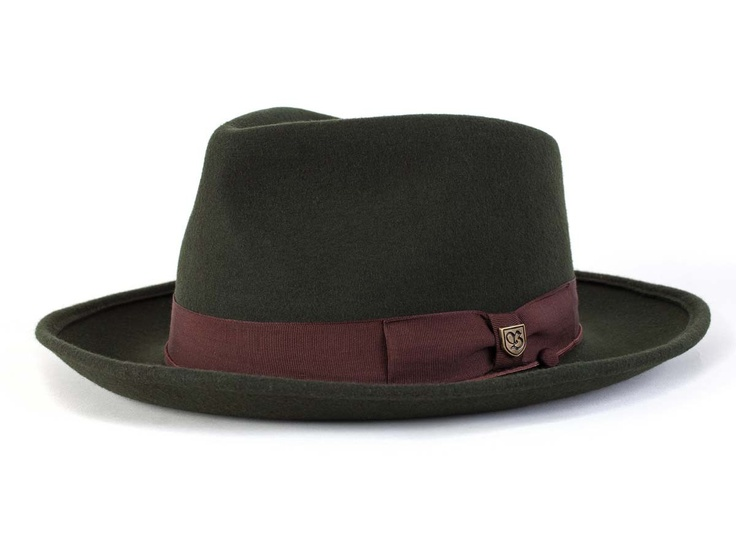 Wide brimmed felt pork pie fedora with grosgrain band. Brixton Swindle #hats #men #fashion #accessories    In stock.  Price: $74.00    Color *  Size *    * Required Fields  Qty:        Add to Wishlist    | Share [+]  Find a Dealer  Swindle