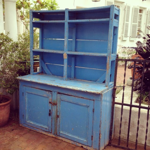 Blue Kitchen Dresser from the Karoo - R4800