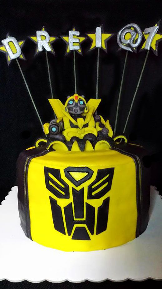 18 Best Images About Bumblebee Transformers Cake On
