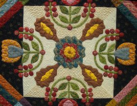 The Sauder Village 39th Annual Quilt Show in Archbold, Ohio has come and gone.  There were some great quilts this year!  The first group...