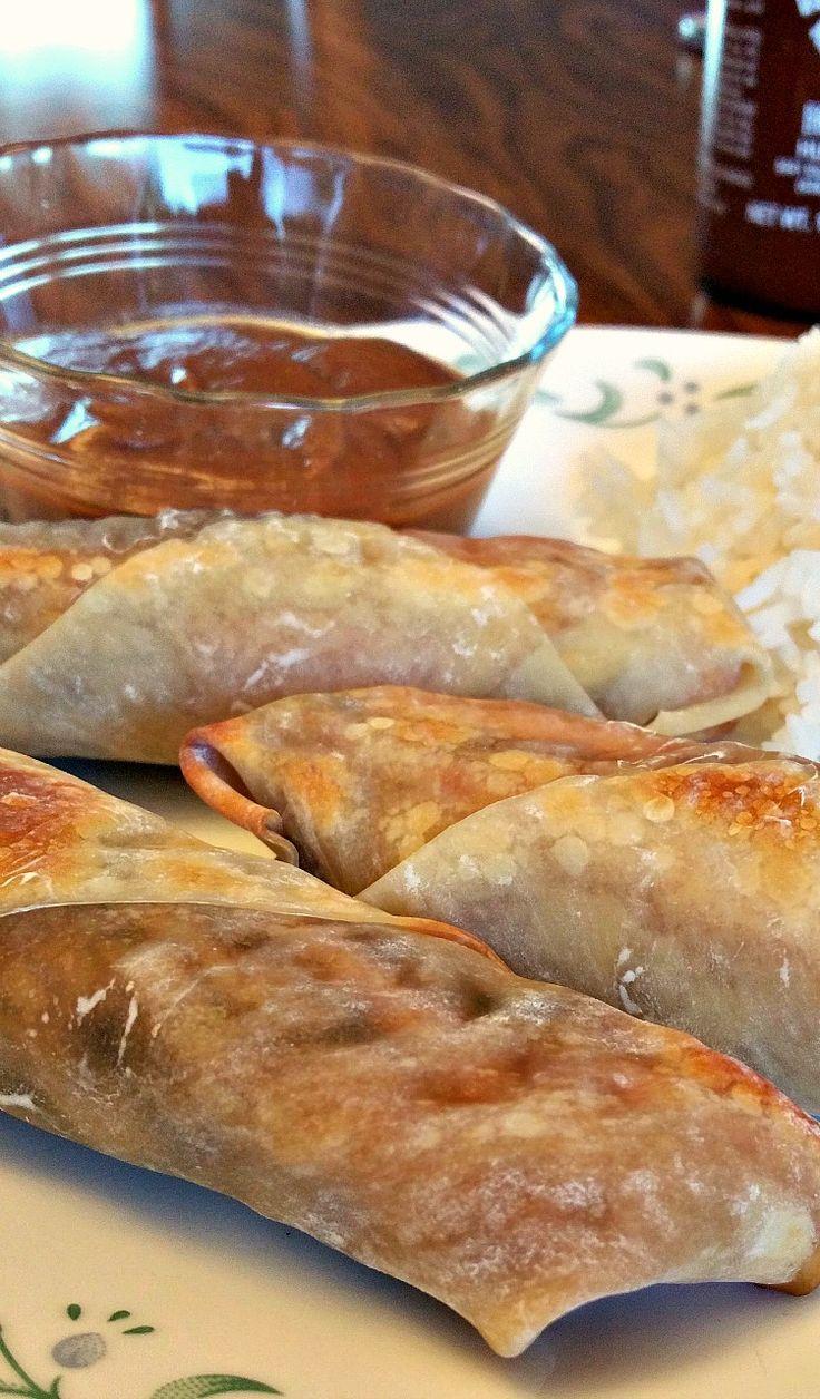 Baked Veggie Spring Rolls http://www.brandnewvegan.com/recipes/baked-veggie-spring-rolls/
