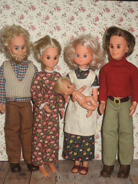 Sunshine Family - I loved my Sunshine Family, but man were they creepy!  I had the house too.  I wish I still had it!