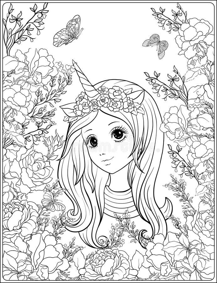 Unicorn Horn Coloring Page Youngandtae Com Unicorn Coloring Pages Unicorn Horn Coloring Pages