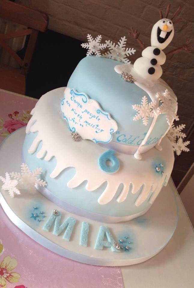 Frozen Th Birthday Cake