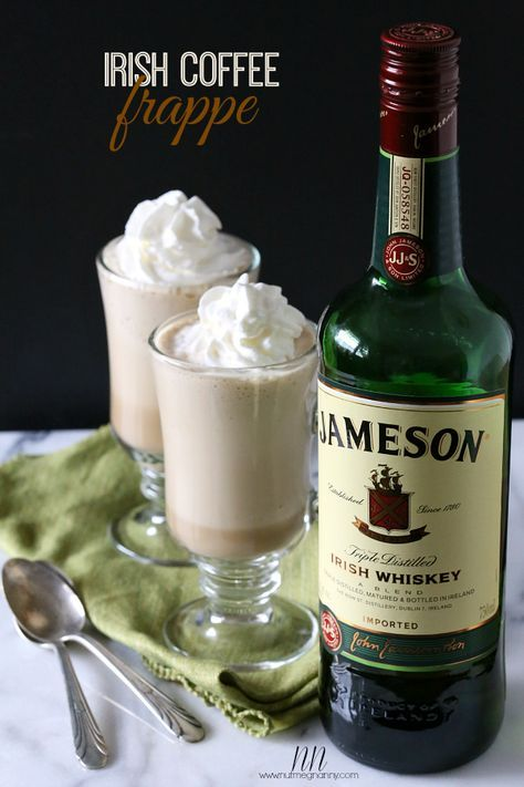 Irish Coffee Frappe by Nutmeg Nanny #vitamix Get FREE ground shipping on any blender purchase at Vitamix.com with code 06-006499
