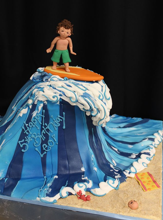 'wave' cake ideas for M's bday