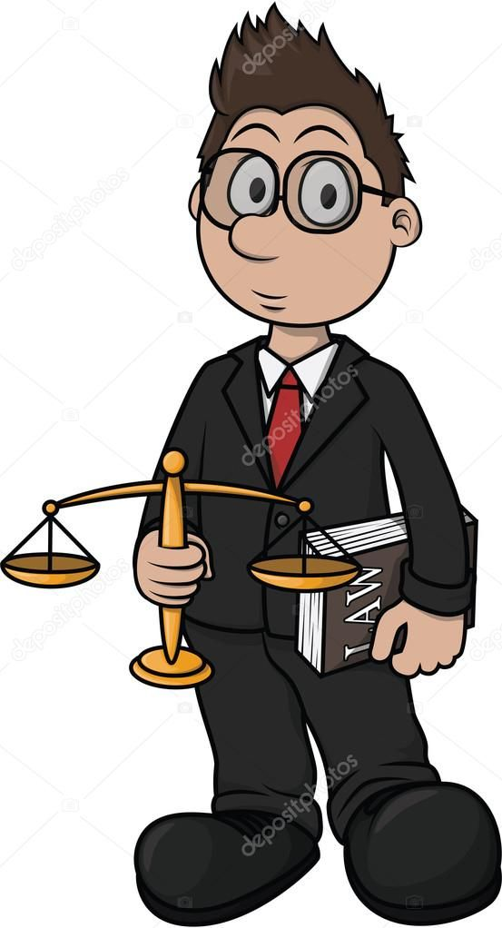 Resultado de imagen de abogado dibujo animado