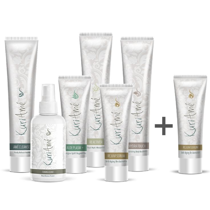 ANOTHER GREAT SPECIAL! Get a FREE Rejuvi Serum - our anti-ageing hero product (valued at R345) with every full set of KuriAmé products ordered for R1450 in the month of April. Not only this but we will also deliver all to your door anywhere in South Africa completely free of charge. So SEVEN amazing anti-ageing skincare products that will give you younger, healthier looking skin in 4-8 weeks for the amazing price of only R1450. Come on...LOVE THE SKIN YOU'RE IN! Click here to purchase…
