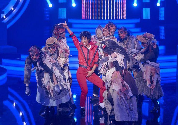 Hana Holišová coby Michael Jackson....mj