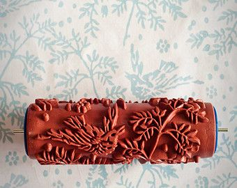 Tapet patterned paint roller from The by patternedpaintroller