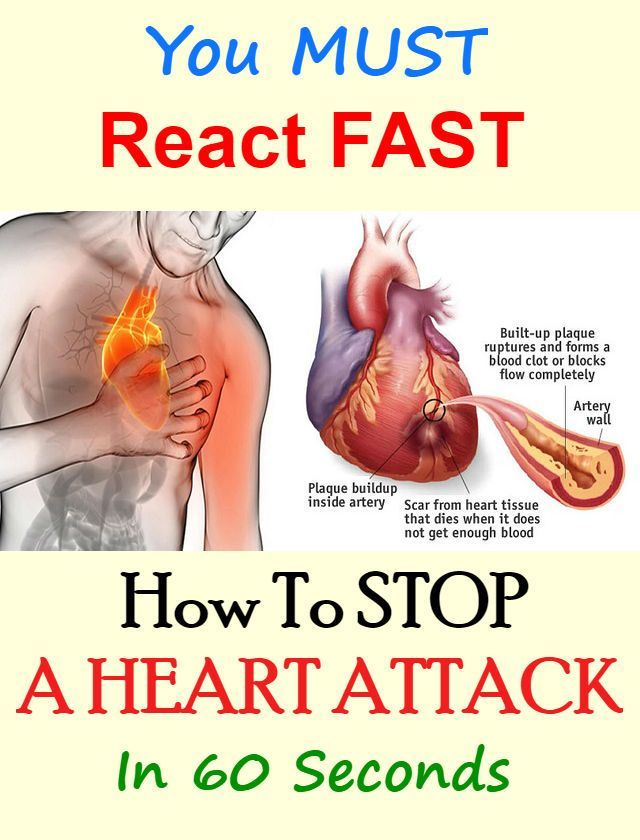 Here's How To Stop A Heart Attack In 60 Seconds... You Must React Fas