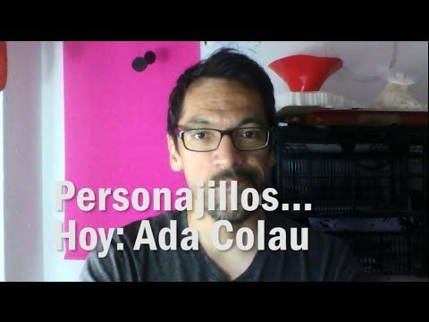 Personajillos! Hoy: Ada Colau  Visita mi página web www.carlosrascon.com Suscríbete a mi canal de Youtube!  Hola! Luego de caer por accidente en un mitin en la Estació del Nord me hago una necesaria pregunta... ¿Quién es esa tal Ada Colau...?  Sígueme!  Instagram: https://instagram.com/papelitohabla/ Twitter: https://twitter.com/papelitohabla73 Facebook: https://www.facebook.com/pages/Papelito-Habla-Paper-art-Illustration/719299031522574 Pinterest: https://www.pinterest.com/papelitohabla73