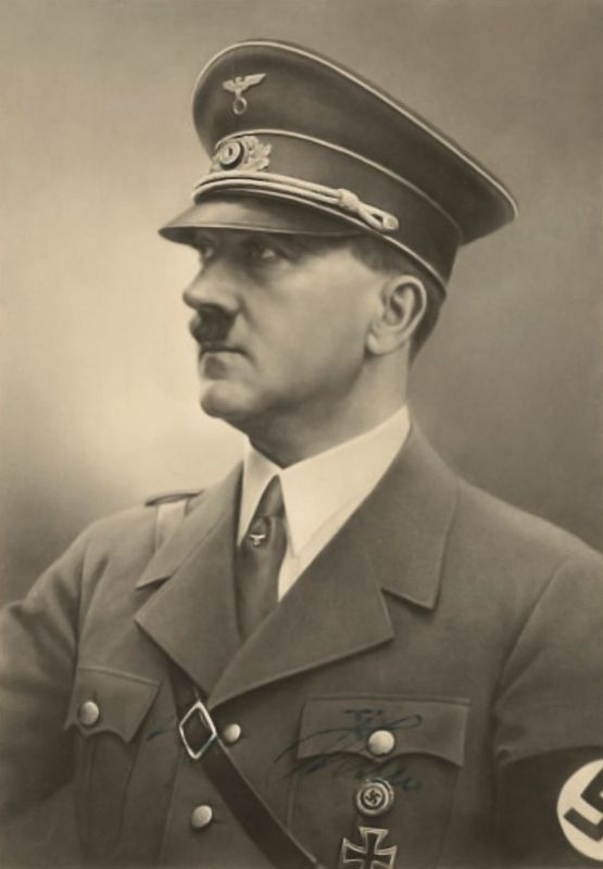 Lovely photograph of Adolf Hitler the Führer