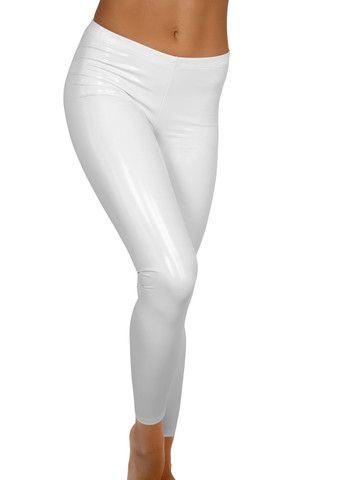 White Heroine Liquid Leggings