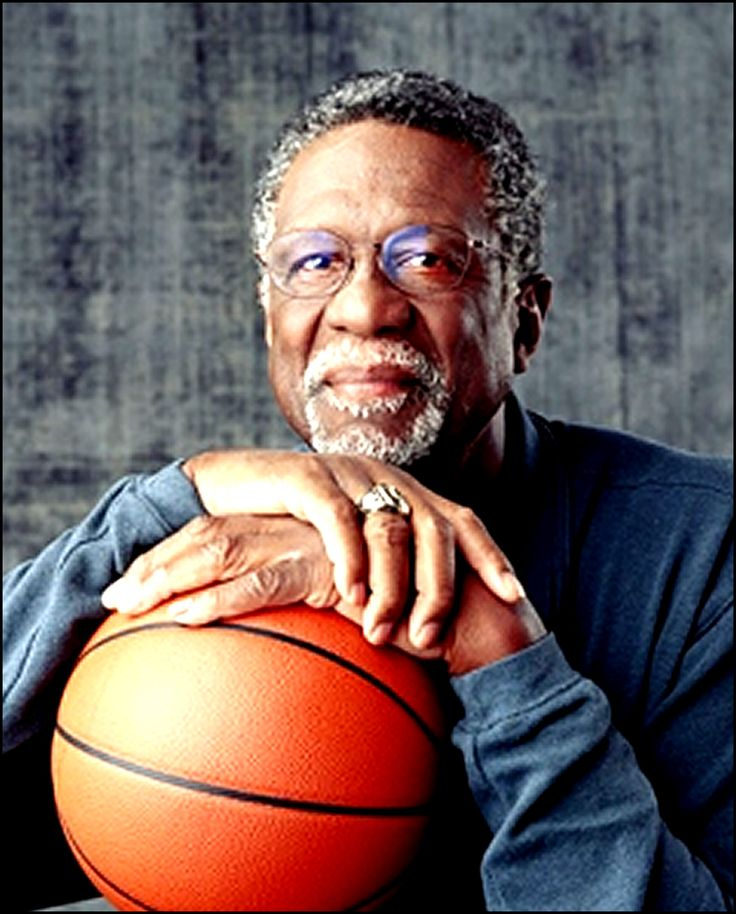 The great Bill Russell