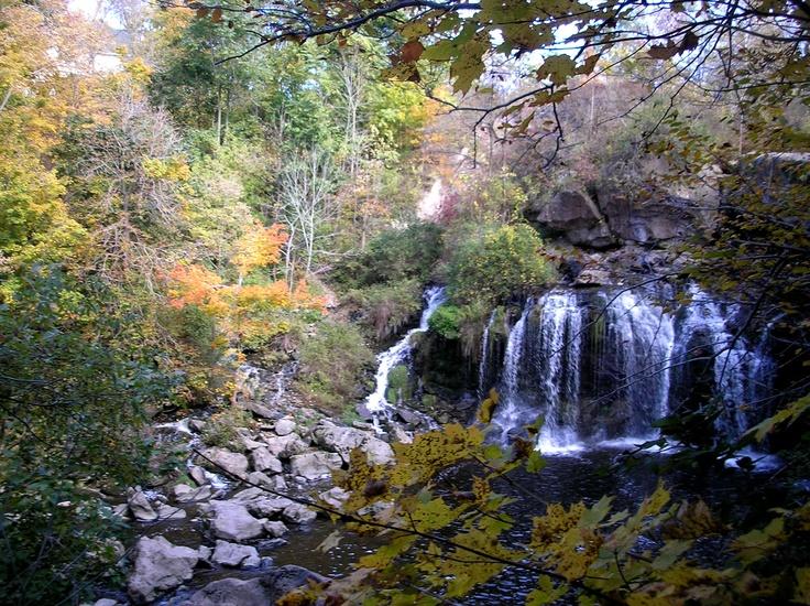 Akron Falls Park - fall foliage 10/2012